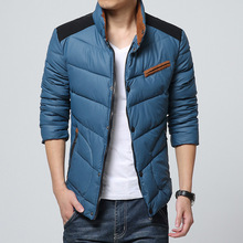 High Quality Autumn Winter Men Jacket 2015 Fashion Contrast Color Outdoor For Man Casual Patchwork Thick Mens  Jackets 6111