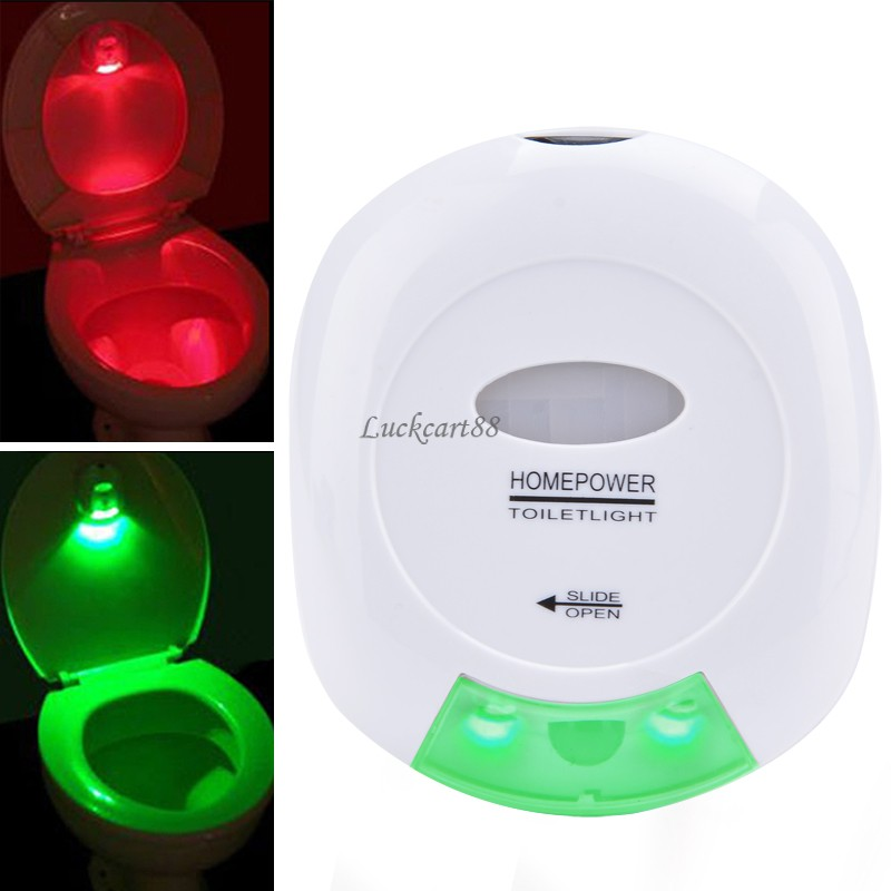 Led Sensor Motion Activated Toilet Light Bathroom Light Toilet Lamp Battery Operated Automatic