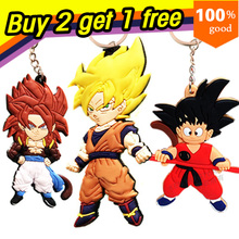 Super realistic Anime Cartoon Dragon Ball Z Keychains Action & Toy Figures Pendants Key Chains Collection Model Toy Doll