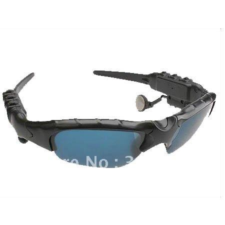 2GB Sport Sunglasses Headset Sun glasses Mp3 Player Free Shipping