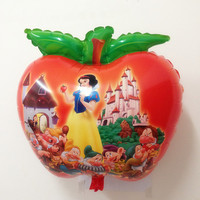 50 PCS Apple Shape Snow White Helium balloons Kids birthday party decorations Inflatable toys gifts for children games