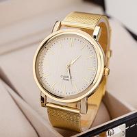 100pcs/lot Fashion Gold Color Grid Alloy Watch Roman Style Ladies Dress Wristwatch Wholesale Price Quartz Wrap Watch 3 Designs