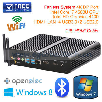 HM77 Haswell Chipset 2GB DDR3 80GB HDD High PC With Intel Core i7 WiFi Thin Client for  IR Whiteboard SKD Set Touch Screen
