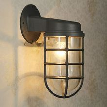 Outdoor Wall Lamp Sconce Steampunk Light  E27 5W led bulb Vintage Industrial Explosion Proof hallway(China (Mainland))