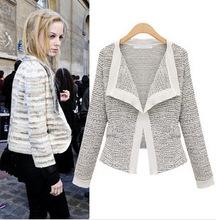 Buy Women's winter fashion European American linen Long Sleeve knit cardigan sweater jacket women short coat A421 for $21.33 in AliExpress store