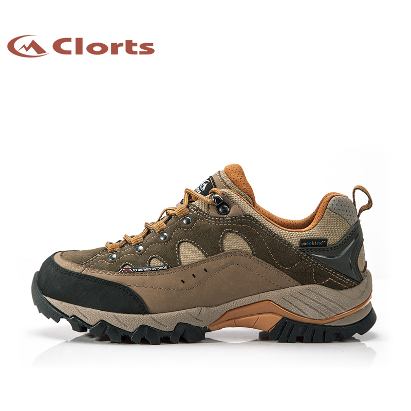 Clorts 2015 Men Suede Men Climbing Shoes Breathabl...
