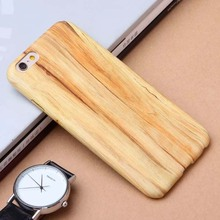 New Luxury Wooden Pattern Cover For Apple iPhone 6 Case Wood Grain Back Shell For iphone6 6S 6Plus 6S Plus  4.7/5.5″ Phone Cases