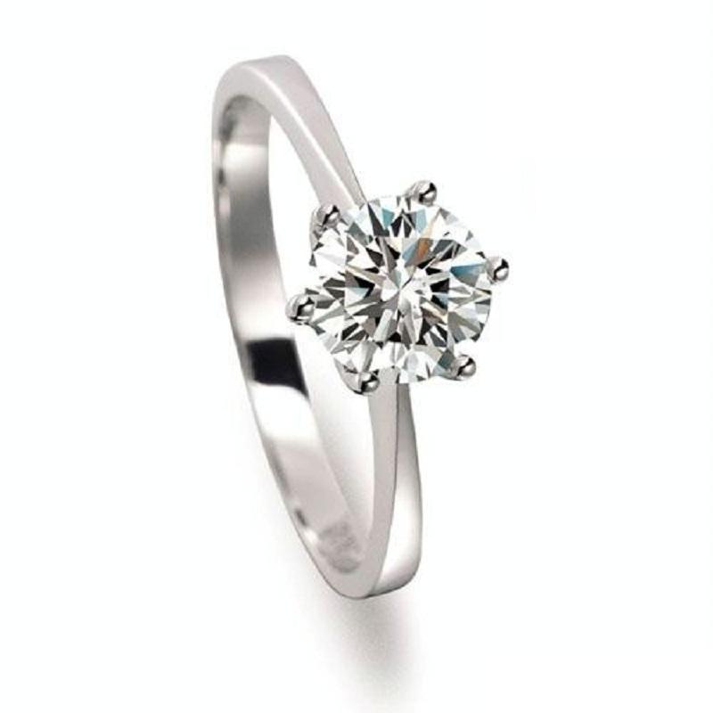 50 Off Big CZ Diamond Crystal Jewelry Stone Wedding Rings Anillos For Women