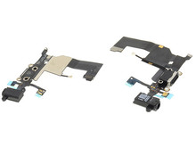 5 pcs/lot for  5G 100% Original Charger Dock Headphone Audio Jack Flex Cable Assembly Replacement Spare Parts Black White Color(China (Mainland))