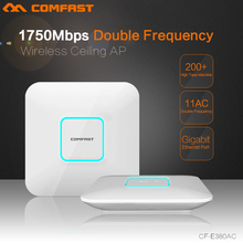 1750Mbps AC wifi router high power 2.4G+5.8G dual-band Wifi Repeater Access Point Wi Fi Router CF-E380AC ceiling wireless AP - Shenzhen Four Seas Global Link Network Technology Co., Ltd. store