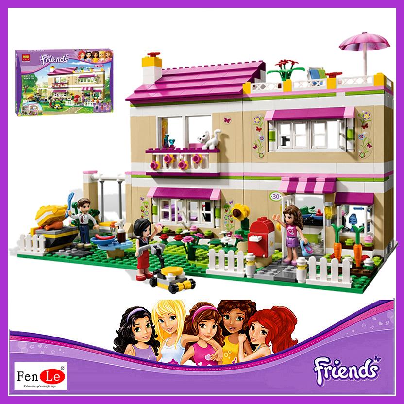 Achetez en gros lego amis olivia de maison 3315 en ligne - Jeu de construction de maison en ligne ...
