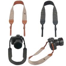 Buy Camera Accessories Vintage Shoulder Neck Strape Durable Cotton Camera Strap Sony Nikon Canon Olympus DSLR Camera for $2.49 in AliExpress store