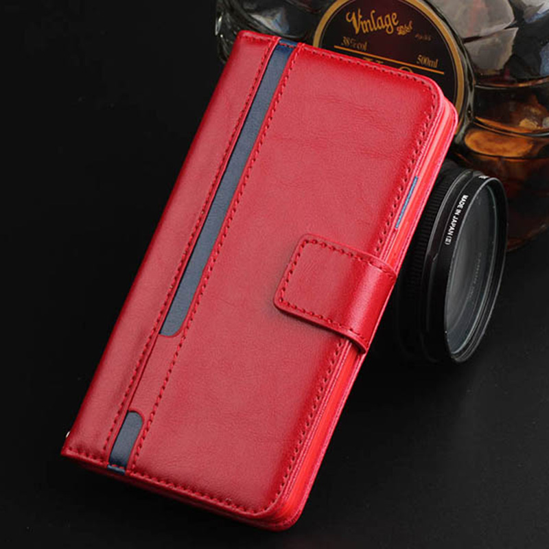 Luxury Retro Leather Case For Samsung GALAXY S6 / S6 edge Flip Wallet Cover Case Design Credit Card Phone Case Women Red Girl(China (Mainland))