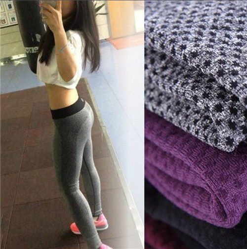 2015 Women Quick Drying Fitness Trousers Outdoor Running Leggings Pants Sexy Sportswear Elastic Gym Sport Hot - Childhood Castle store