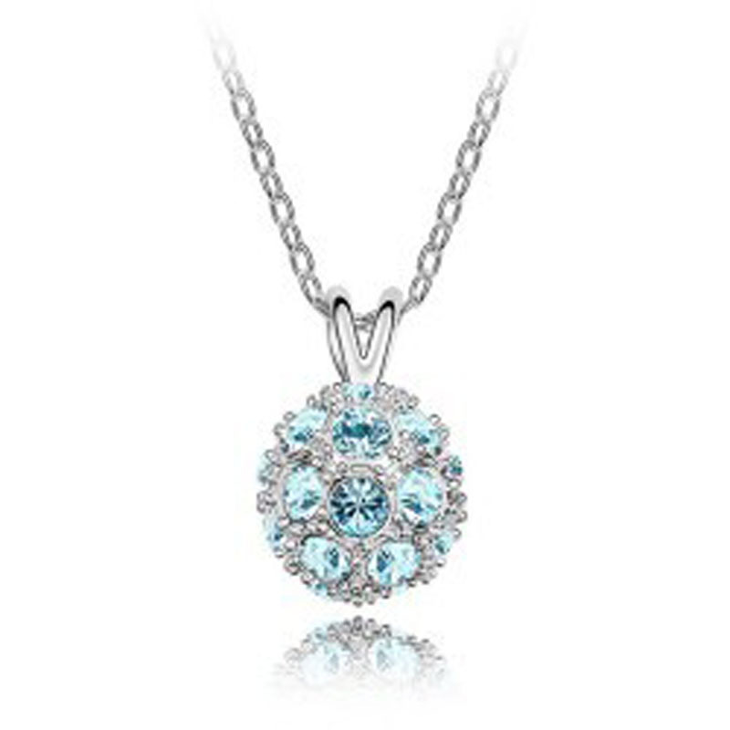 Women jewelry / fashion accessories without nickel fine round ball pendant 137 - Jinghong Jewelry store