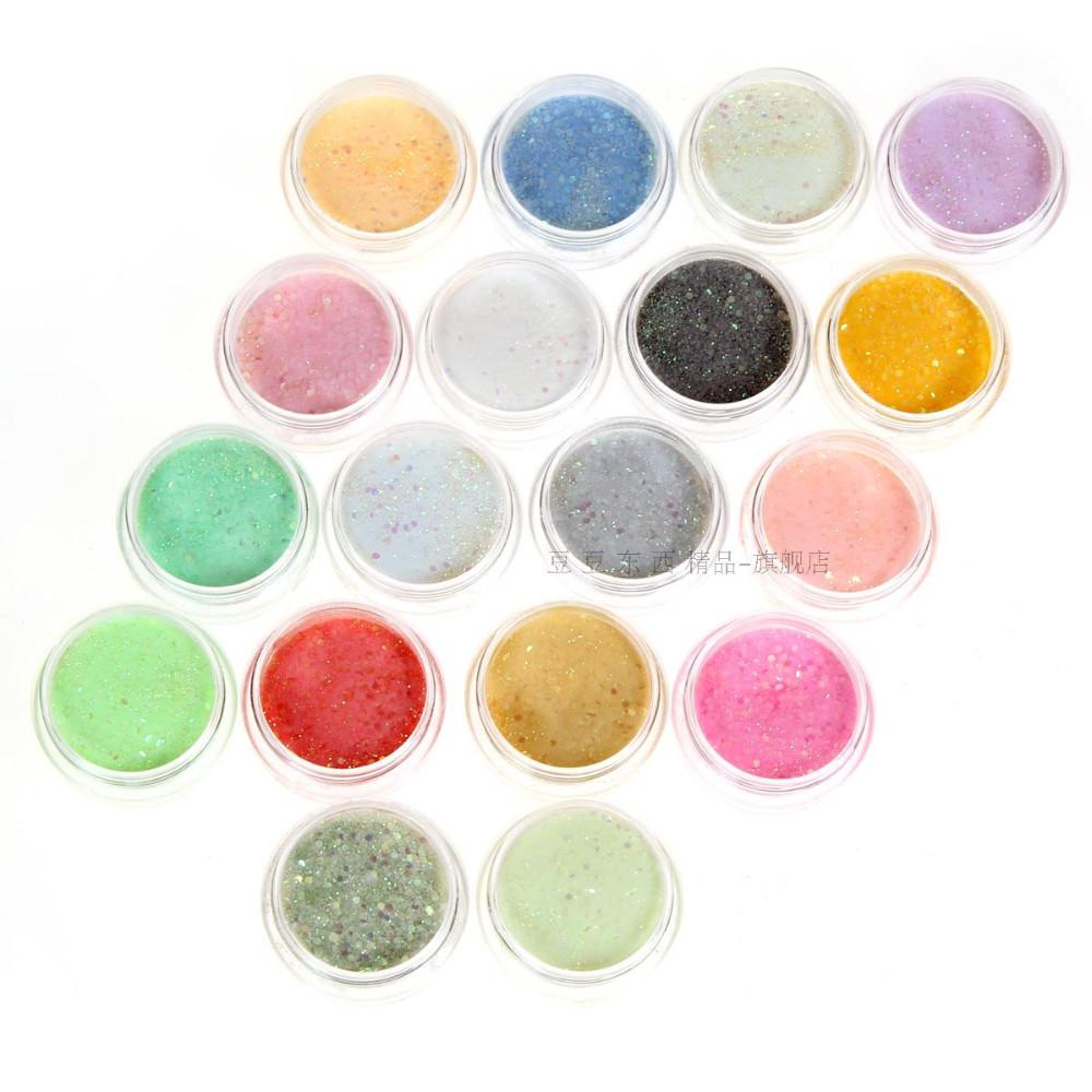 18 Colors Nail Acrylic Powder Free Shipping