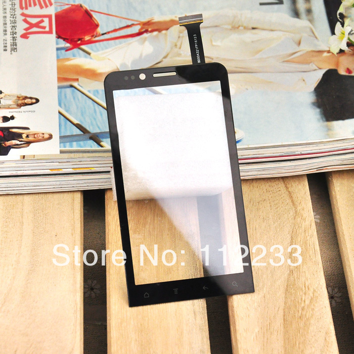 Touch Screen for ZOPO ZP200 front glass replacement Black Color Free Shipping(China (Mainland))