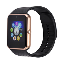 2015 Newest Wear Bluetooth Smart Health Phone Watch With Sim Card Smartwatch For Apple Samsung GT08 Wearable Device Phone