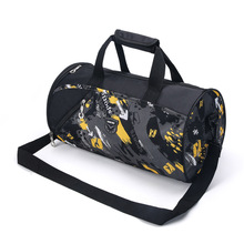 Men Women Casual Travel Duffel Bag With Shoe Compartment Waterproof Leisure Crossbody Tote Travel Bags(China (Mainland))
