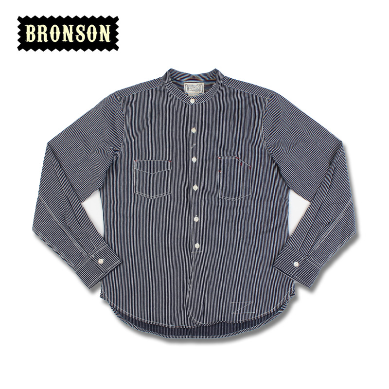 2016 bronson 9oz cotton stripe casual vintage long-sleeve shirt free shippingОдежда и ак�е��уары<br><br><br>Aliexpress