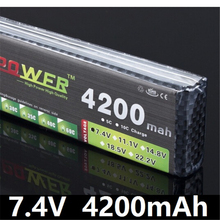 Buy LION POWER 7.4V 4200mAh 25C 2S LiPo Battery T/XT60 Plug RC Car Airplane Helicopter 7.4 V 4200 mah 2S Lipo Battery for $19.56 in AliExpress store