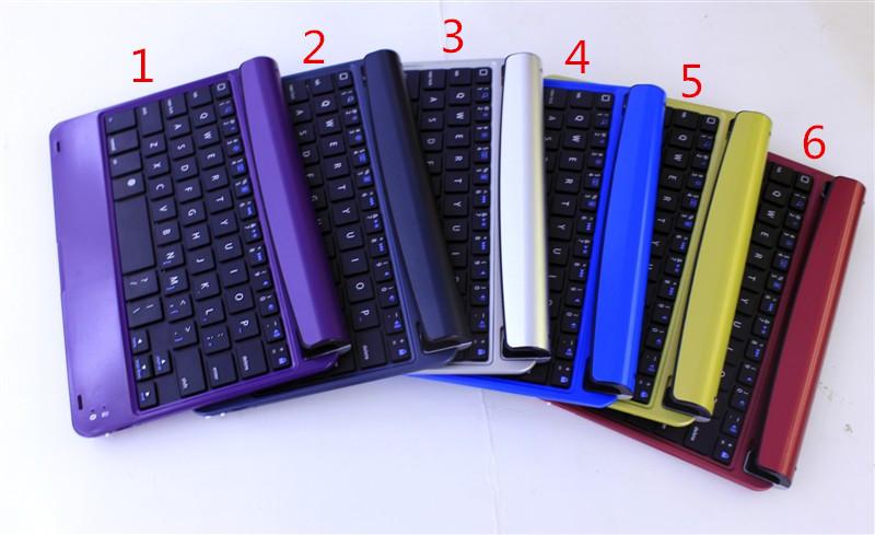 Luxury for for iPad mini 1 2 3 Super Thin Ultra-Slim Aluminum Metal keyboard Wireless Bluetooth Design Tablet Laptop Keybord <br><br>Aliexpress