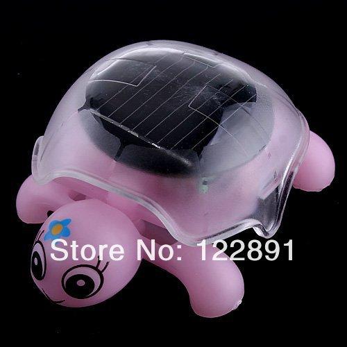 HOT Sale! Mini Solar Educational Toy Little Tortoise Turtle Solar Toy Freeshipping Dropshipping(China (Mainland))