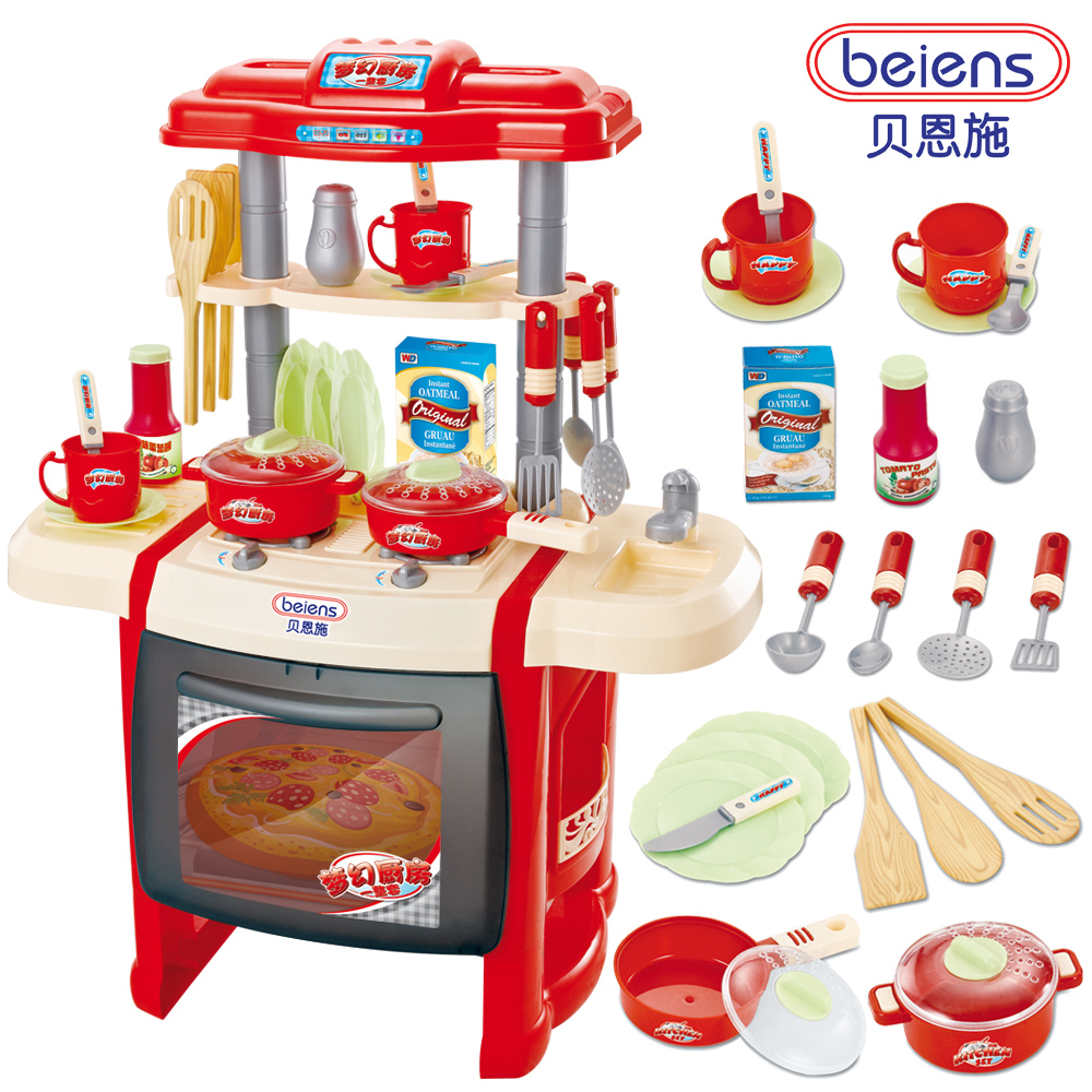 Hot sale educational toys baby kitchen toys child cooking for Toy kitchen set