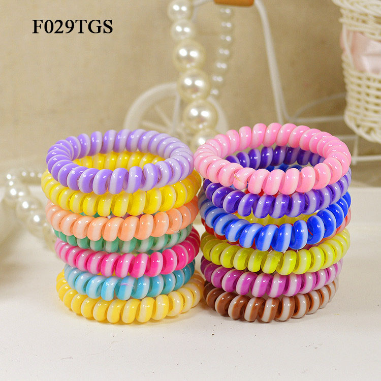 10Pcs/Lot Candy Color Elastic Hair Bands Hair Accessories Women Headband Hair Ring Band Rope Gum for Hair Tie Headwears Hairband(China (Mainland))
