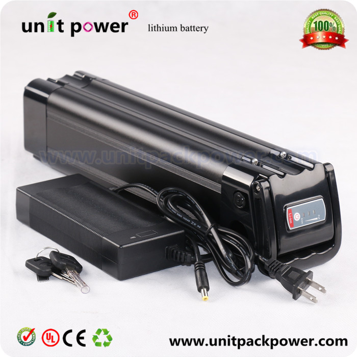 36V 15AH silver fish ebike battery Lithium ion Battery for Electric Bike,rechargeable 36v 15ah li-ion battery(China (Mainland))