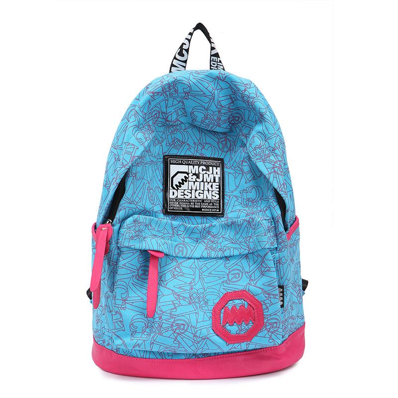 Freeshipping 2014 Harajuku Korean styple lovers backpacks man or women traval sport bags girls book bags for school(China (Mainland))