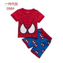 Buy 2015 New Design Cartoon Suits Boys Spiderman Pajamas Baby Printed Pijamas sets 100% Cotton Children Clothing set Kids Sleepwears for $37.68 in AliExpress store