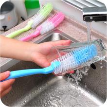 Wholesale fashion strong decontamination soft bristle brush cup brush cleaning brush bottle brush FREE SHOPPING(China (Mainland))