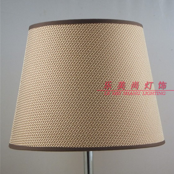 Floor lamp shade lamp shade woven hemp linen flat patch for Floor lamp with woven shade
