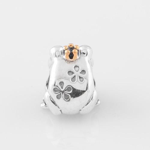 Подходит для европейского шарма браслет Аутентичные 925 серебряные бусины принц LW288 (2)