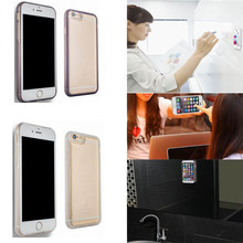 New Simple Fashion Nano Anti Gravity TPU Stick-On Transparent Protective Case Cover For iPhone 6 6S Plus