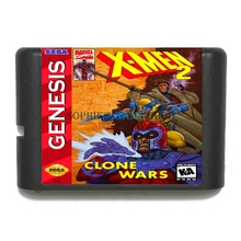Buy X Men 2 Clone Wars 16 bit MD Game Card Sega 16bit Game Player for $3.79 in AliExpress store