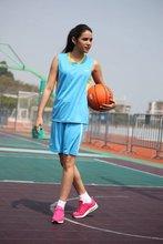 women basketball sets lady breathable blank basketball jerseys female sports kits adult training uniforms running sportswear(China (Mainland))