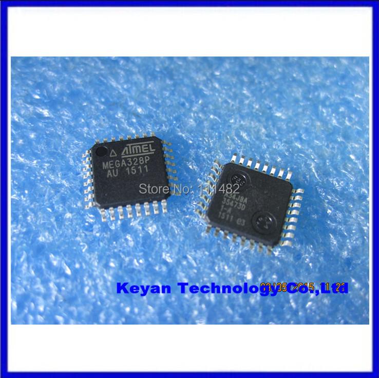 1pcs,ATMEGA328 MEGA328, AVR ATmega328P-AU TQFP Microcontrollers ICs&Free Shipping(China (Mainland))