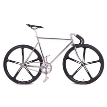 Buy fixie Bicycle Fixed gear bike 700C *23C 52cm FRAME vintage Promotion Diy Complete Road Bike, student Bicycle green frameType for $179.10 in AliExpress store