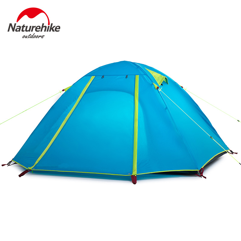 POINT BREAK NH15Z003-P 2016 New High-quality Double Layer 4 Person 215*215*130 Cm Outdoor Camping Hiking Travel Tent(China (Mainland))