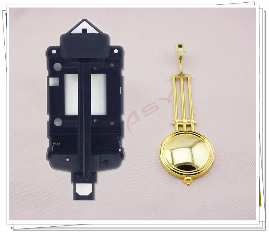 Clock wiggler with Pendulum Quartz Clock wiggler for Clock Mechanism Repair DIY Parts clock parts accessories(China (Mainland))