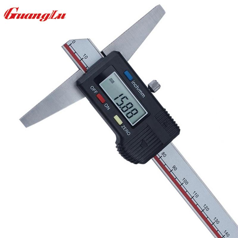 Electronic Measuring Tools : Digital caliper mm electronic depth gage