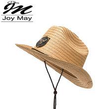 2016 New Arrival Paper Cowboy Hat KIDS CHILDREN Jazz Formal Hat Summer Sun Hat Beach HATS C007(China (Mainland))