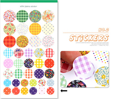 Diy photo album paste type stickers dot painting 4pcs/set free shipping