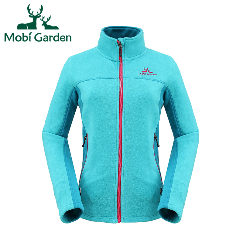 Mobi Garden Climbing HIking Winter Ski Breathable Coldproof Sports Jacket For Women Fleece Jackets For Couples ZWB1311016 MWK092