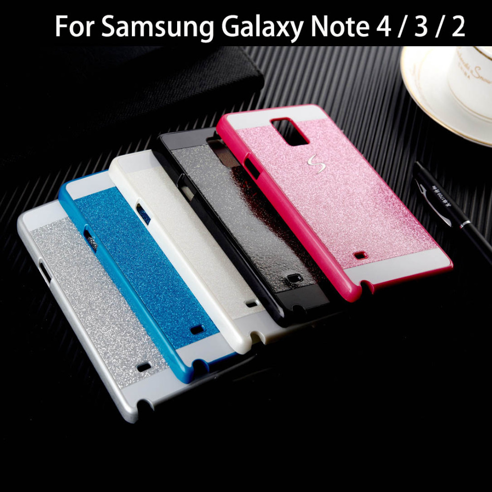 2015 Hot Bling Phone Case Shinning Luxury Cover for Samsung Galaxy Note 4 3 2 back cover Sparkling case for Galaxy Note 4 N910(China (Mainland))