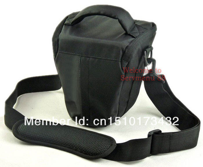 Free Shipping Hot New Black Waterproof Camera case bag for Nikon DSLR D7000 D3100 D3000 D5100 D300S D90 D700 Camera/Video Bags(China (Mainland))