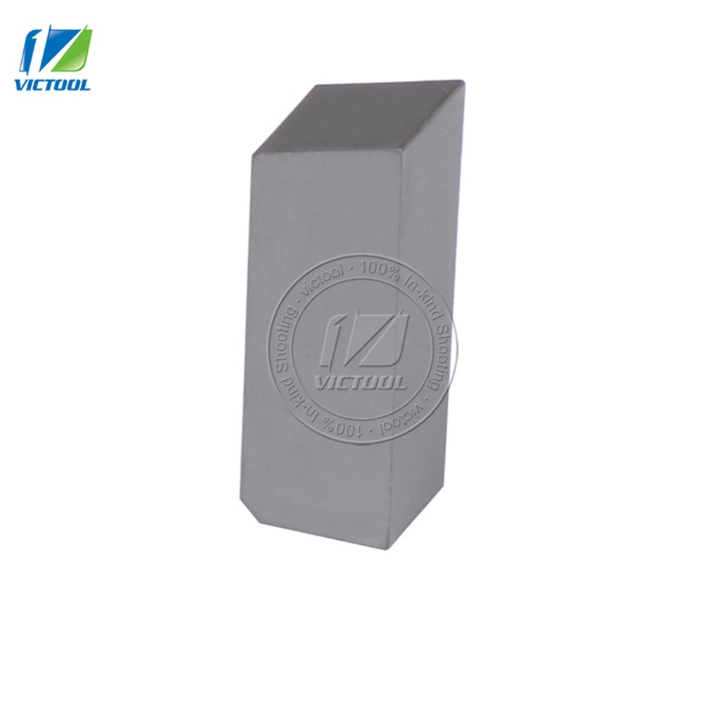 10pcs/lot C306 YT15 tungsten brazed tips High quality Carbide inserts For making parting tools and grooving tools(China (Mainland))
