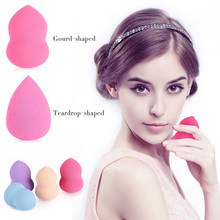 1 Pcs Foundation Sponge Blender Blending Facial Makeup Sponge Cosmetic Puff  Flawless Beauty Powder Puff Make Up Sponge 1641623(China (Mainland))
